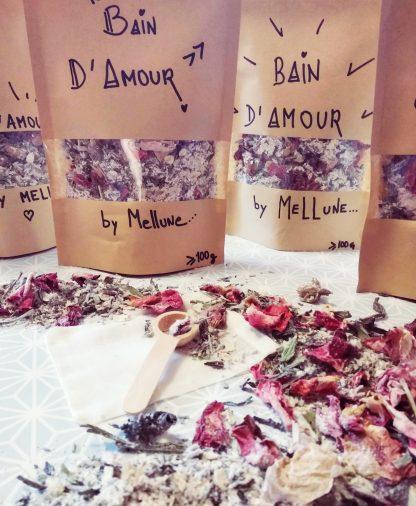 bain d amour roses