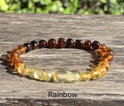 bracelet-ambre-mellune-bébé-rainbow