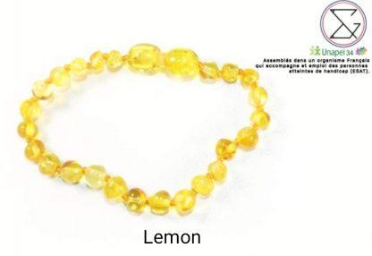 bracelet-ambre-mellune-bébé-lemon