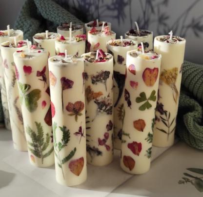 bougies-lot-mellune-vegan-fleurs